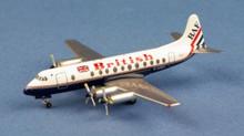 "AeroClassics British Air Ferries ""British"" Viscount 800 G-APEY 1/400"