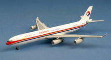 "AeroClassics China Eastern Airbus A340-300 B-2383 ""1st Flight of new Millen 1/400"