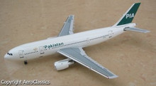 AeroClassics Pakistan International Airlines Airbus A300B4 - AP-BAY 1/400