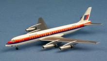 AeroClassics United Airlines Douglas DC8-21 N8005U 1/400