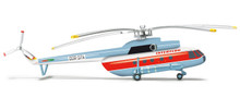 Herpa Interflug Mil Mi-8T 1/200