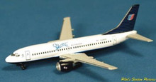 "Dragon Wings United Boeing 737-300 ""Shuttle white"" 1/400"