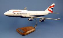 Pilot's Station British Airways Boeing 747 1/144