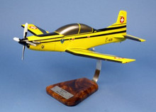 Pilot's Station Siwss Army Pilatus PC-9 1/24
