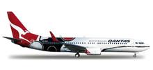 """Herpa Qantas Boeing 737-800 """"Mendoowoorrji"""" 1/200"""