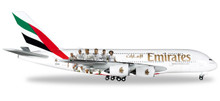 "Herpa Emirates Airbus A380 ""Real Madrid"" 1/500"