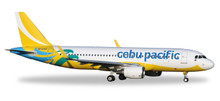 Herpa Cebu Pacific Air Airbus A320 - new 2016 colors 1/500