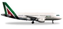 """Herpa Alitalia Airbus A319 """"Isola di Ponza"""" 1/200"""