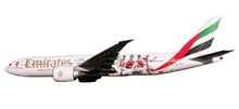 "Herpa Snap-Fit Emirates Boeing 777-200LR ""Arsenal London"" 1/250"