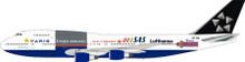 Inflight200 Star Alliance (Varig) Boeing 747-300 PP-VNI 1/200
