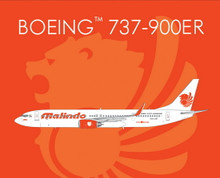 Phoenix Malindo Boeing 737-900ER 1/400