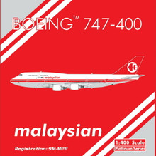 Phoenix Malaysia Airlines Boeing 747-400 Retro 1/400