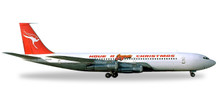 "Herpa Qantas Boeing 707-300C ""Have a Qantastic Christmas"" 1/500 529488"