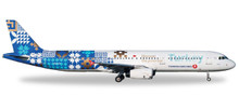 """Herpa Turkish Airlines Airbus A321 """"Turkey, Discover Potential"""" 1/500 529532"""