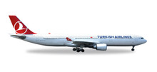 "Herpa Turkish Airlines Airbus A330-300 ""EM 2016"" 1/500 529556"