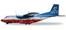 "Herpa Luftwaffe Transall C-160 LTG 63 / Air Transport Wing ""55 Years LTG 63 / 60 Years Luftwaffe"" 1/200 558068"