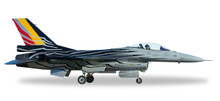 Herpa Belgian Air Force Lockheed Martin F-16AM Fighting Falcon - F-16 Solo Display Team 1/72 580137