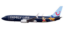 "Herpa Snap-Fit Jetairfly Boeing 737-800 ""Family Life Hotels"" 1/200 611145"
