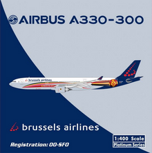 Phoenix Brussels Airlines A330-300 'Belgian Red Devils' 1/400