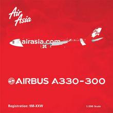 "Phoenix AirAsiaX Airbus A330-300 ""X-Men"" 1/400"