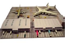 Herpa Scenix Cargo Terminal cardboard model 1/500