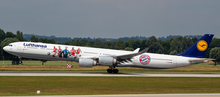 "Phoenix Lufthansa Airbus A340-600 ""Bayern Munich"" D-AIHK 1/200"