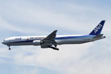 "Phoenix ANA All Nippon Airways Boeing 777-300 JA755A ""GUNDAM"" 1/200"