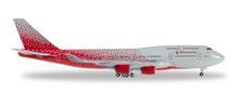 """Herpa Rossiya Airlines Boeing 747-400 """"Saint Petersburg"""" 1/500"""