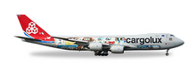 "Herpa Cargolux Boeing 747-8F - 45th Anniversary ""City of Redange-sur-Attert"" 1/200"