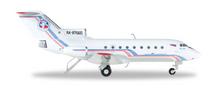 "Herpa Vologda Air Company Yakovlev Yak-40 ""Ded Moroz"" 1/200"