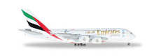 "Herpa Emirates Airbus A380 ""Cricket World Cup"" 1/500"