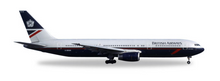 Herpa British Airways Boeing 767-300 Landor Colors 1/500