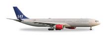 """Herpa SAS Scandinavian Airlines Airbus A330-300 """"Helge Viking"""" 1/200"""