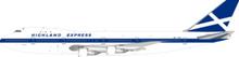Inflight200 Highland Express Airways Boeing 747-100 G-HIHO 1/200