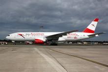"""Phoenix Austrian Airlines Boeing 777-200ER """"My Austrian Hong Kong"""" OE-LPD 1/400"""