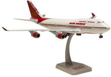 """Hogan Air India Boeing 747-400 """"New Colours"""" 1/200"""