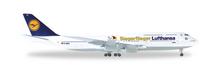 """Herpa Lufthansa Boeing 747-8 Intercontinental """"Siegerflieger Paralympics Rio 2016"""" 1/500"""