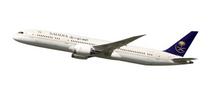 Herpa Saudia Boeing 787-9 Dreamliner 1/200