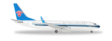 Herpa China Southern Airlines Boeing 737-800 – B-5718 1/500