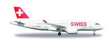 Herpa Swiss International Air Lines Bombardier CS100  HB-JBA 1/200