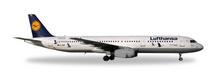 """Herpa Lufthansa Airbus A321 """"25 Jahre Kranichschutz"""" – D-AIRR """"wismar"""" 1/200"""