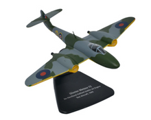Oxford Gloster Meteor F2 De Havilland Halford Goblin Jet Engine Test Aircraft 1/72