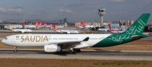 Phoenix Saudi Arabian Airlines Airbus A330-300 HZ-AQE 1/400