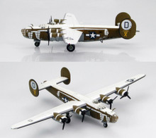HobbyMaster B-24D Liberator assembly ship for the 392ndBG Wendling 1/144