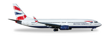 Herpa British Airways (Comair) Boeing 737-800 - ZS-ZWG 1/500