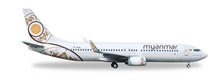 Herpa Myanmar National Airlines Boeing 737-800 - XY-ALB 1/500