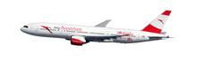 Herpa Austrian Boeing 777-200 - new colors - OE-LPD 1/200