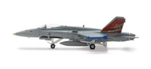 "Herpa Royal Canadian AF, 410 McDonnell Douglas CF-18 Hornet ""Cougars"" Sqd - ""25 years Hornet 1/200"