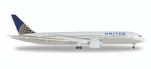 Herpa United Airlines Boeing 787-9 Dreamliner  N45956 1/500