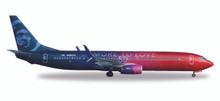 Herpa Alaska Airlines Boeing 737-900 Virgin USA merger livery N493AS 1/500